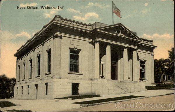 Post Office Wabash Indiana
