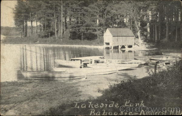 Lakeside Park, Bahoo st c Amherst New Hampshire