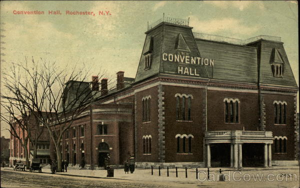 Convention Hall Rochester New York