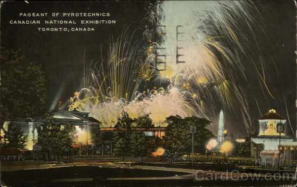 Pageant of Pyrotechnics, Canadian National Exhibition Toronto Canada