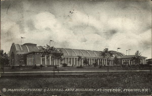 Manufactureres & Liberal Arts Building, NY State Fair Syracuse New York