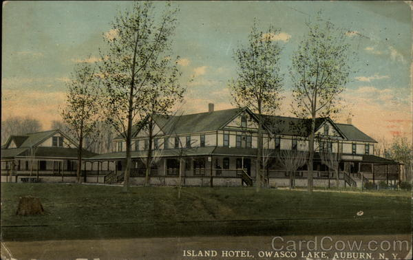Island Hotel, Owasco Lake Auburn New York