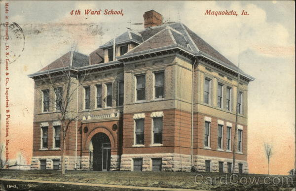 4th Ward School Maquoketa Iowa