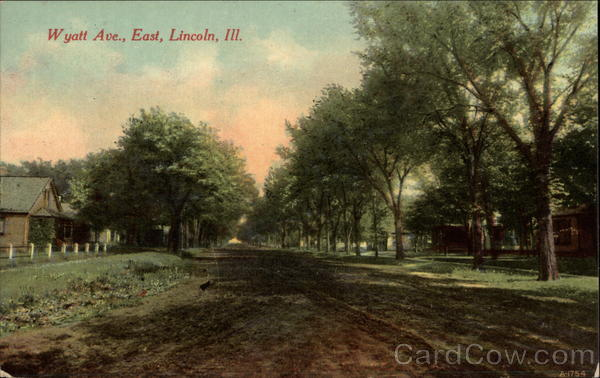 Wyatt Ave., East Lincoln Illinois
