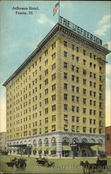 Jefferson Hotel Peoria Illinois