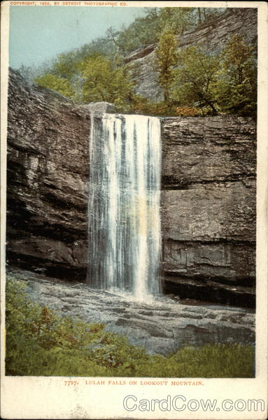 Lulah Falls on Lookout Mountain Chattanooga Tennessee