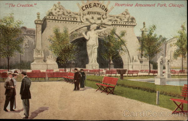 The Creation Riverview Amusement Park Chicago Illinois