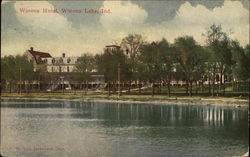 View of Winona Hotel from the Lake