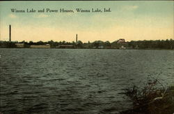 Winona Lake and Power Houses