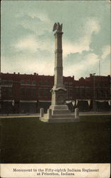 Monument to the Fifty-Eighth Indiana Regiment