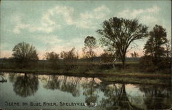 Scene on Blue River