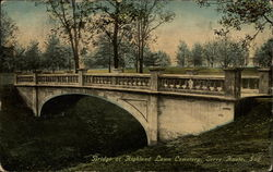 Bridge at Highland Lawn Cemetery