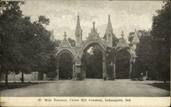 Main Entrance, Crown Hill Cemetery