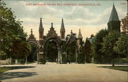 East Entrance Crown Hill Cemetery