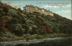 The Kittatinny House from the Island
