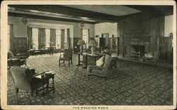 "The Reading Room, Skytop Lodge, ""High in the Poconos"""