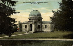 Newton Observatory, Allegheny College