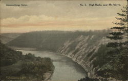 Genesee Gorge: High Banks Near Mt. Morris