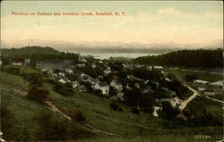 Rondout on Hudson and Rondout Creek