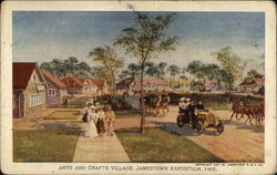 Arts and Crafts village, Jamestown Exposition, 1907