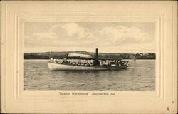"The ""Steamer Maranacook"""