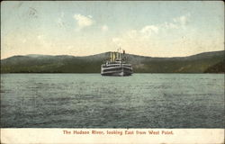 The Hudson River, looking East from West Point
