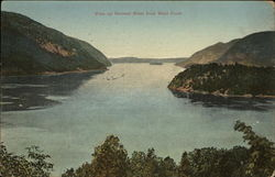 View up Hudson River from West Point