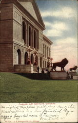 Facade, Art Institute Postcard