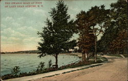 The Owasco Road at Foot of Lake