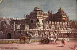 Delhi Gate Fort Postcard