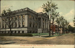Carnegie Library and West Wayne Street