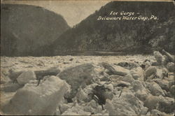 Ice Gorge Postcard