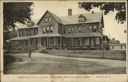 Hospital - N.Y. State Soilders' and Sailors' Home