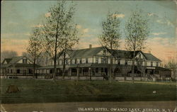 Island Hotel, Owasco Lake