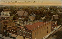 Birds Eye View of Nevada from Court House