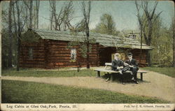 Log Cabin at Glen Oak Park