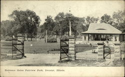 Entrance Gates Fairview Park