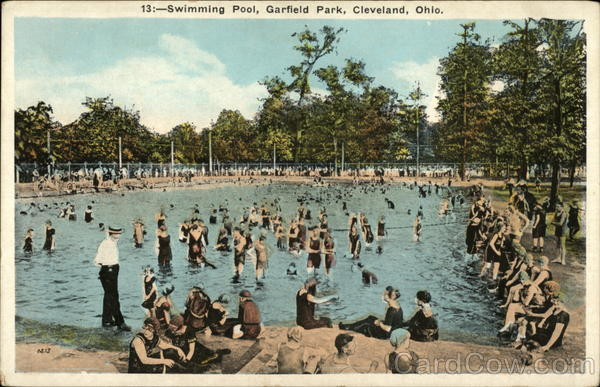 Swimming Pool Garfield Park Cleveland Oh