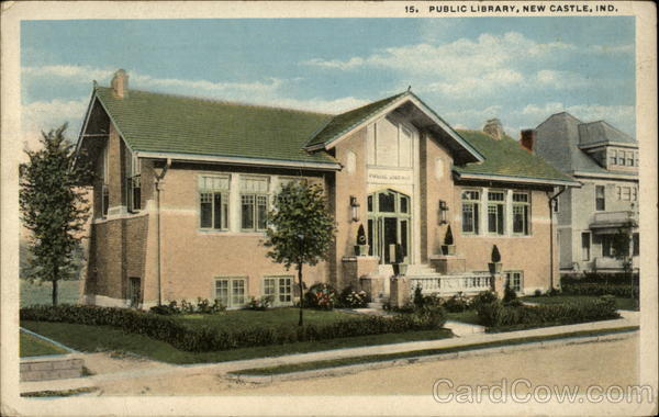 Public Library New Castle Indiana