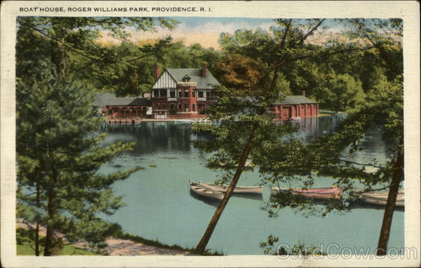 Boat House, Roger Williams Park Providence Rhode Island