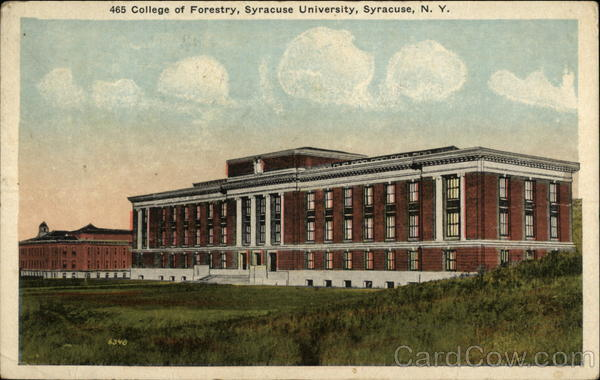College of Forestry, Syracuse University New York