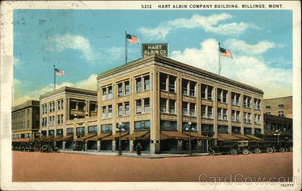 At T Billings Mt >> Hart Albin Company Building Billings, MT
