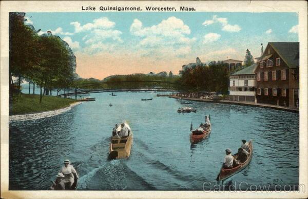 lake quinsigamond worcester  ma