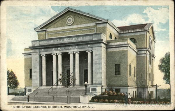 Christian Science Church Washington District of Columbia