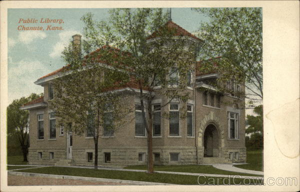 Public Library Chanute Kansas