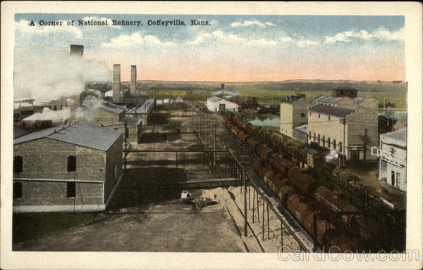 A Corner of National Refinery Coffeyville Kansas