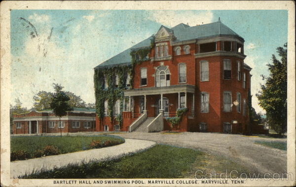 Bartlett Hall And Swimming Pool Maryville College Tennessee