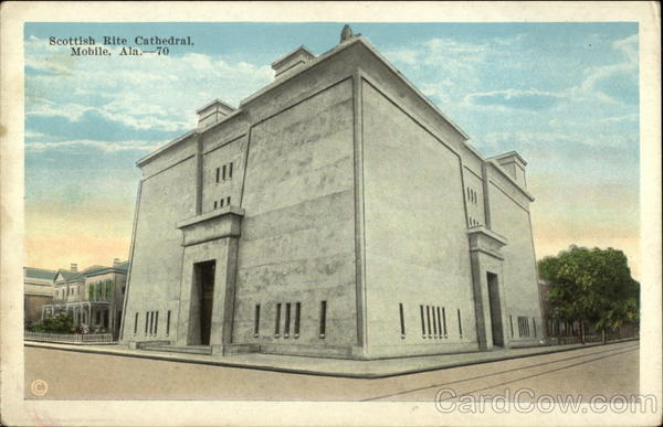 Scottish Rite Cathedral Mobile Alabama