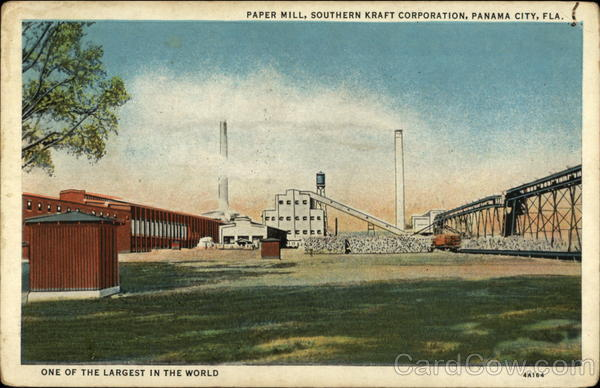 Paper Mill, Southern Kraft Corporation Panama City Florida