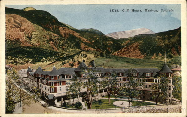 Cliff House Manitou Colorado